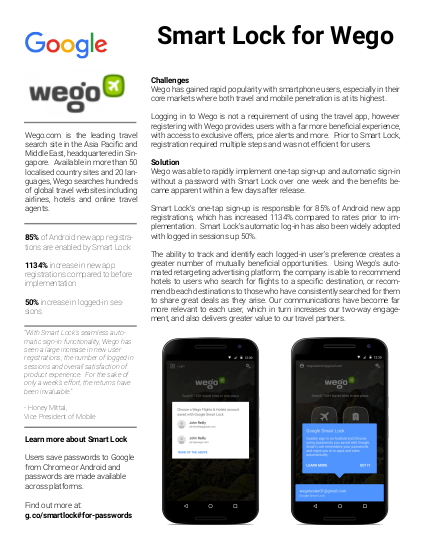 Пример использования Wego