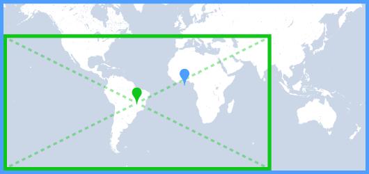 Padding do mapa