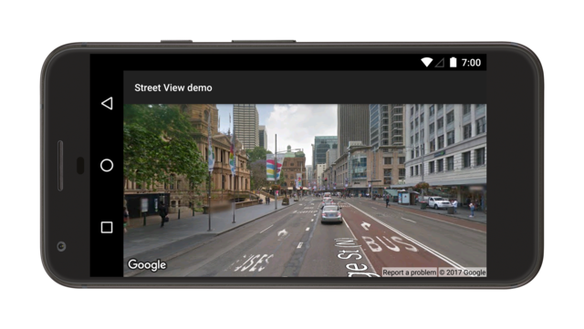 Demo zu Street View-Panorama