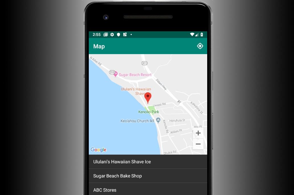 Atelier de programmation: créer votre propre sélecteur du lieu actuel– Android