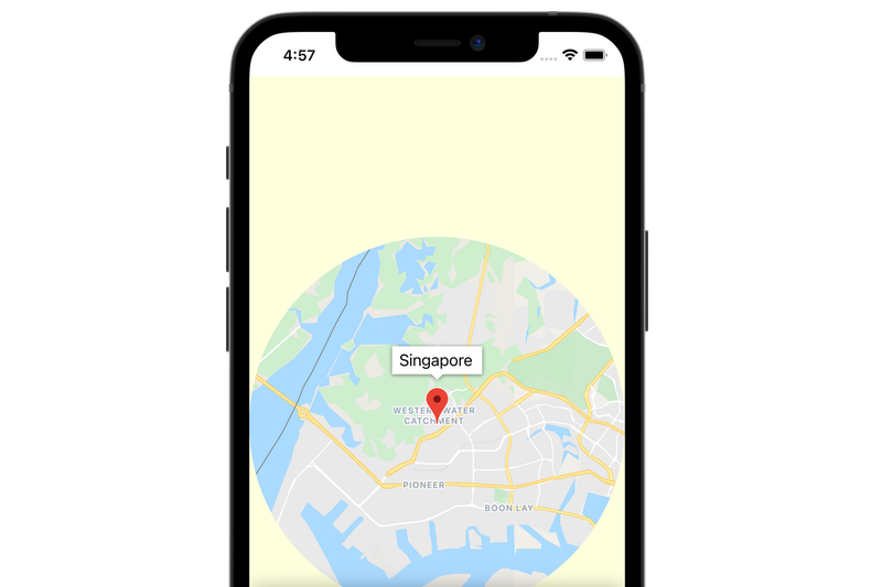Atelier de programmation: Ajouter une carte à votre application mobile avec SwiftUI (iOS)