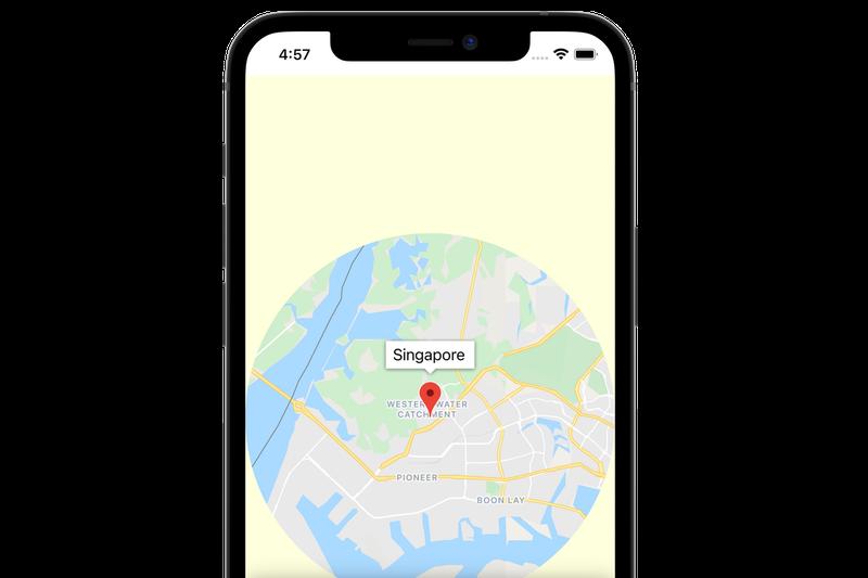 Codelab: Agrega un mapa a tu app para dispositivos móviles con SwiftUI en iOS