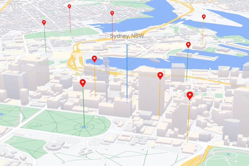WebGL を活用したマップ機能 - JavaScript