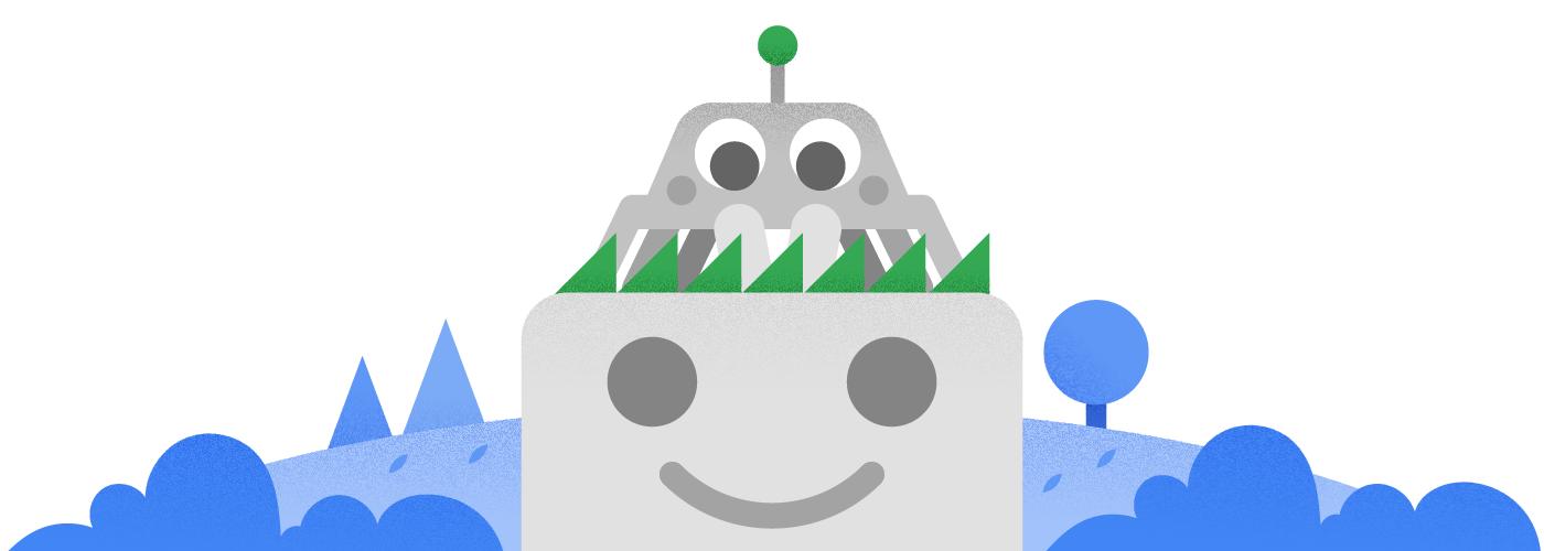 Neuer Look für das Googlebot-Maskottchen